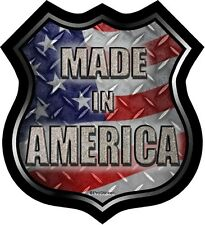 """ProSticker 829 (One)  5"""" Made In America Decal Sticker Road Sign"""