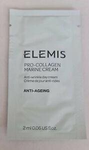 20 x Elemis Pro-Collagen Marine Cream 2ml each 40ml total Anti Wrinkle Day Cream