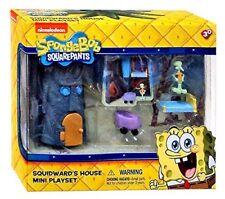 SPONGEBOB SQUAREPANTS Mini Figura Playset-SQUIDWARD 'S HOUSE