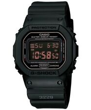 BRAND NEW CASIO G-SHOCK DW5600MS-1 BLACK DIGITAL 200M MENS WATCH NWT!!!