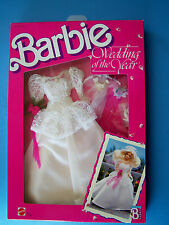1989  WEDDING OF THE YEAR Barbie Doll FashionWEDDING GOWN  #3793