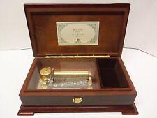 Vintage J. Strauss CM Weber Sankyo Orpheus 50 Note Music Box - Perfect -