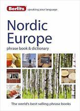 Berlitz Nordic Europe Phrase Book and Dictionary, NEW
