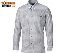 Camisas y polos de hombre de manga larga en gris