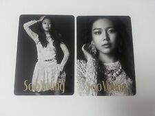 SNSD K-POP Girls' Generation 3rd Japan Arena Tour Sooyoung Official Photocard 2p