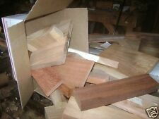 Exotic Tropical Wood Cutoffs!   10 pound box!   The Perfect Gift!   NICE!
