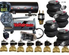 DC100 Compressor 3/8 Valves 4-2600 Bags 14 Sw-box 8port tank pswit F08