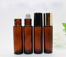 10ml Roll on Glass Bottle Essential Oil Perfume Roller Ball Bottle with Cap  AC