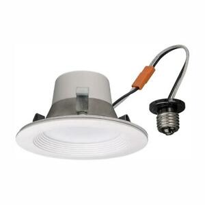 Commercial Electric 4 in. LED Smart Color Tunable White Recessed Trim