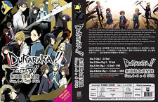 Durarara!! Series (Season 1 2 3 4 + 4 OVA) ~ 4-DVD SET ~ English Version ~ Anime