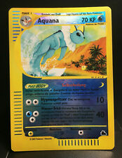 Aquana Reverse Holo Skyridge Near Mint German Pokemon Card