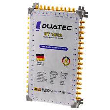 Duatec Multischalter 9/32 Switch FULL HD 3D 4K UHD 32 Teilnehmer SAT Verteiler