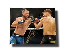 Donald Cowboy Cerrone Signed UFC 16x20 Photo COA Inscriptagraphs Autograph Punch