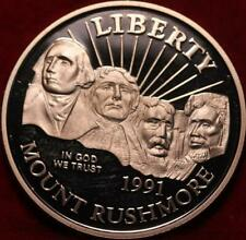 Uncirculated Proof 1991-S Mount Rushmore Comm Clad Half Dollar
