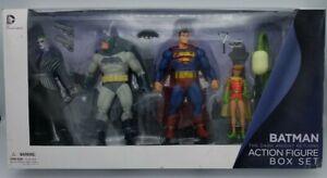 DC Collectibles Batman Dark Knight Returns Action Figure Set C-8.0 MIB