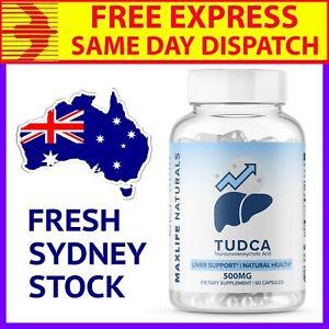 TUDCA - 500mg 60 Caps High Dose, US Quality, Free Express Post