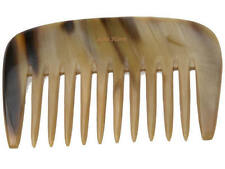 Hans Kniebes Real Horn Beard Comb Large Curly Hair Styler German Made