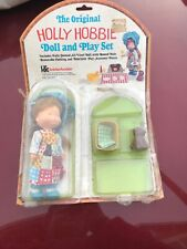 Vintage Knickerbocker The Original Holly Hobbie Doll and Play Set #9874 Open