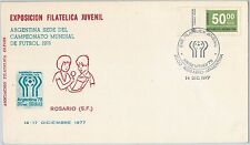 54376 - FOOTBALL - ARGENTINA -  POSTAL HISTORY: 1978  SPECIAL Cover