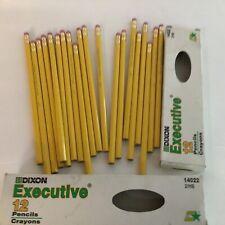 Vintage Lot of 20 DIXON EXECUTIVE PENCILS In Box 14022 2/HB Wood