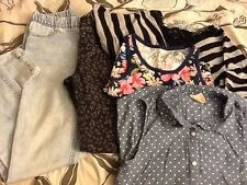 LOT 2 pairs of leggings 3 shirts Size 14 Cherokee Brands