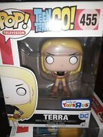 Funko Pop Television Teen Titans Go! Terra #455 Vinyl Figure Toys R Us Exclusive
