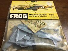 Grenouille 1/72 f225f Macchi MC 202 Folgore Lightning Model Aircraft Kit Scellé