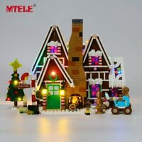LED Light Up Kit For LEGO 10267 Creator Gingerbread House Lighting bricks kit