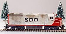 Athearn GP35 Soo Line #728, Blue Box, Dummy HO Scale Locomotive