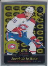 15/16 OPC Platinum Montreal Canadiens Jacob De La Rose Retro RC card #R74