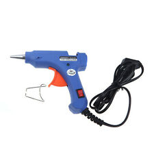 Professional Mini Electric Heating Hot Melt Glue Gun 20W + 50 Free Glue Stick Bz