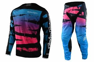 2021 TROY LEE DESIGNS TLD GP LE RACE KIT BRUSHED NAVY CYAN MOTOCROSS ADULT NEW