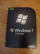 Microsoft Windows 7 Ultimate Upgrade SKU-GLC-00184 32/64 Bit
