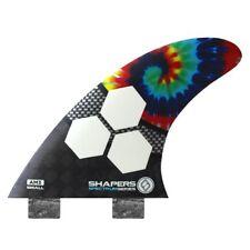 Shapers Fins - AM3 - Al Merrick (FCS) - Tie Dye - Small - Thruster - Surfboard