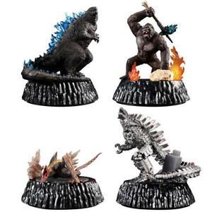 Godzilla Mechagodzilla Kong Skullcrawler HG D+ 06 Figure Set of 4 Bandai HGD