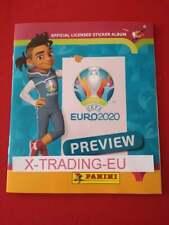 EURO 2020 PREVIEW STICKER OFFICIAL PANINI EMPTY ALBUM PORTUGUESE VERSION