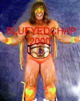 ULTIMATE WARRIOR WRESTLER  8 X 10 WRESTLING PHOTO WWF WCW
