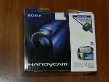 New in Open Box - Sony Handycam DCR-DVD650 DVD Camcorder - SILVER - 027242763111