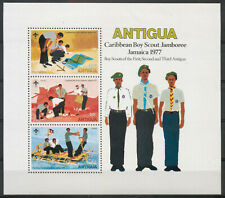 Antigua 1977 Caribbean Boy Scout Jamboree MS sheet MNH mint *COMBINED SHIPPING*
