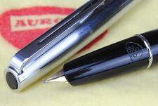 """Aurora Modello 888P Stilografica Nib """"M"""" Gold Kt14-585 Made in Italy 1960s,"""