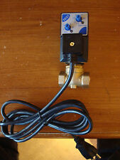 "QUINCY Air compressor condensate drain valve, 1/4"", solenoid, timer, electronic"
