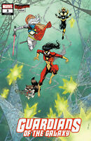 GUARDIANS OF THE GALAXY #3 COVER C SHALVEY SPIDER-WOMAN VARIANT 2020