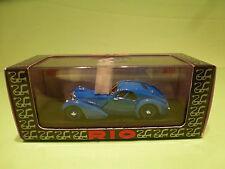 RIO  1:43  - BUGATTI 57 SC ATLANTIC 1938  NO= 78 -  MINT CONDITION  IN BOX
