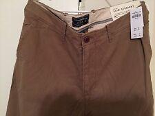 New Abercrombie Men's Slim Straight Chino Pants W38-32L new new