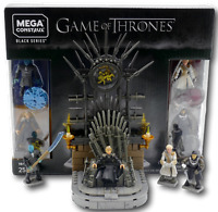 Mega Construx GKM68 Game of Thrones eiserne Thron Jon Snow Cersei Daenerys King