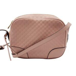 100% Authentic Gucci Guccissima Camera Crossbody Bag