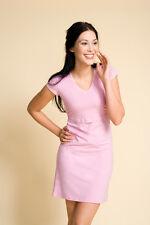 Boob Nursing Nightdress - white / pink / black - breastfeeding nightgown