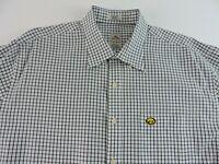 Peter Millar Mens XL Nanoluxe Easycare Long Sleeve Button Down Shirt