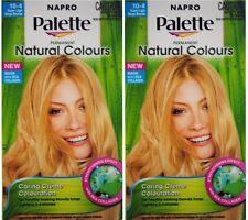 2 NAPRO NATURAL COLOURS PERMANENT BLONDE HAIR COLOUR 10-4 SUPER LIGHT BEIGE NEW
