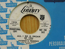 Patience & Prudence 45 Your Careless Love / All I Do Is ~ Liberty VG++